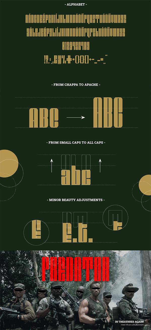 Apache Display Font