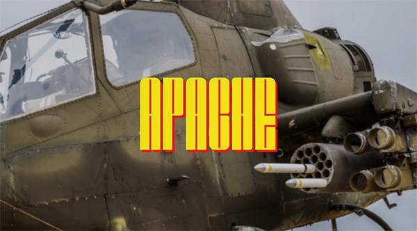 Apache Display Free Font