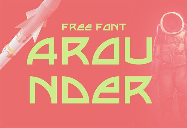 Arounder Display Free Font