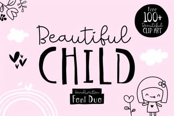 Beautiful Child Free Font