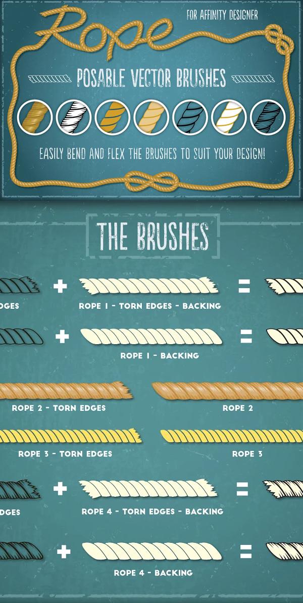 Rope Brushes - Affinity