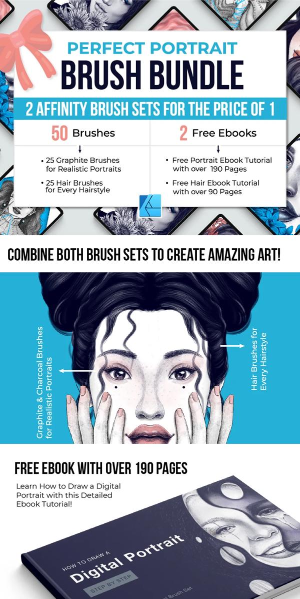 Perfect Portrait Affinity Brushes