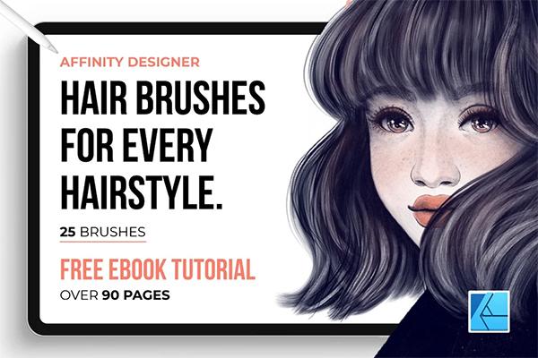 Hair Brushes for Affinity