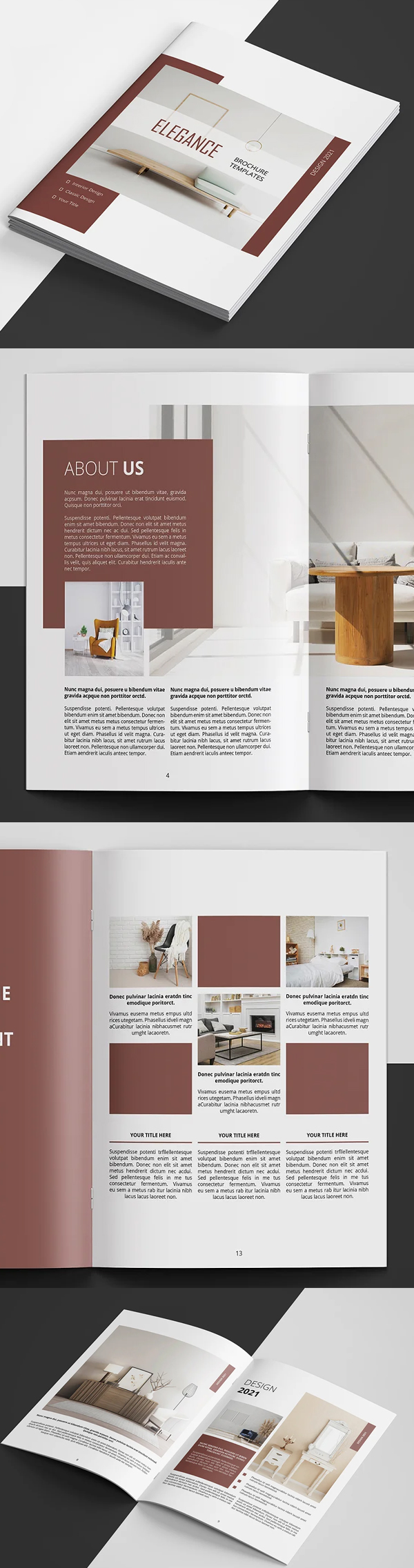 Interior Catalog | Brochure