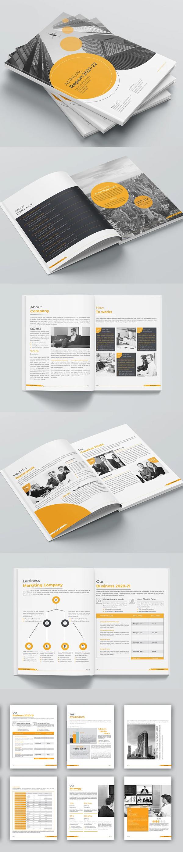 Annual Report 2021 Template