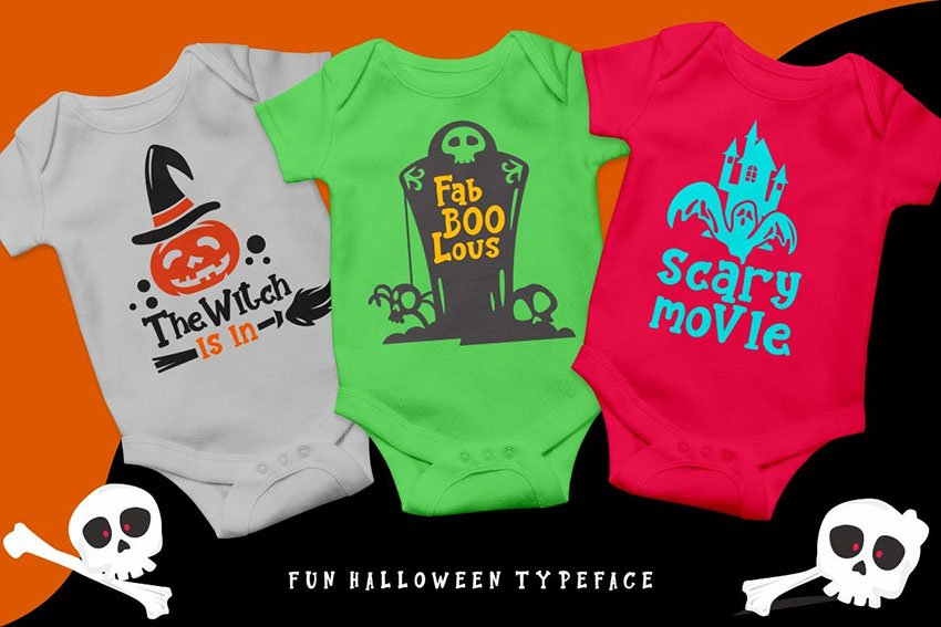 Pumkins Halloween Fun Typeface