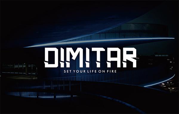 Dimitar Futuristic Free Font