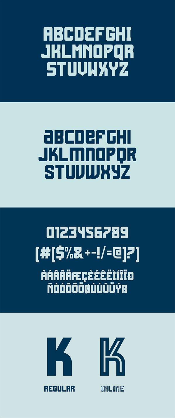Fagrak Bold Font