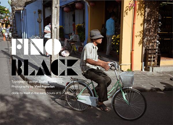 Fino Black Free Font