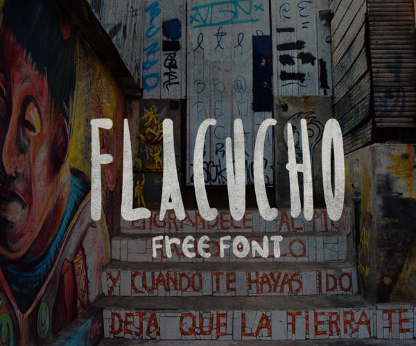 Flacucho Free Font