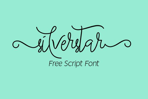 Silverstar Script Free Font