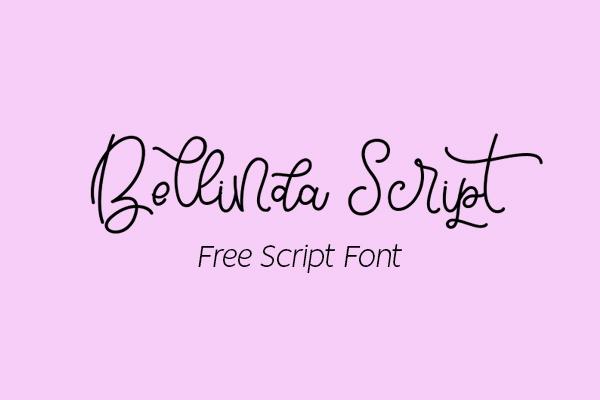 Bellinda Script Free Font