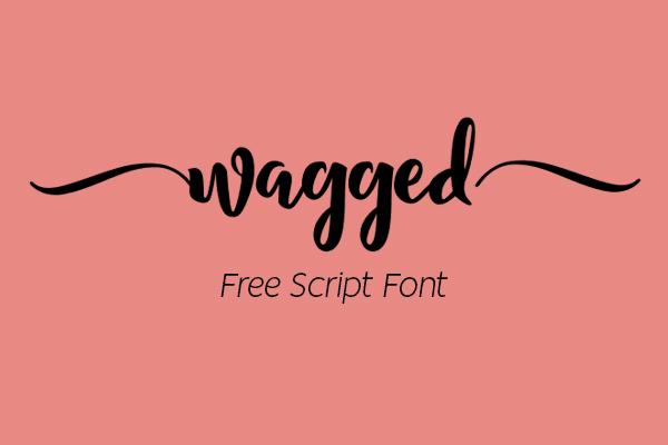Wagged Script Free Font