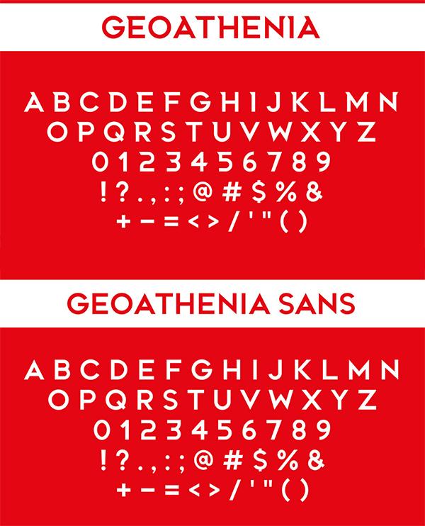 Geoathenia Font