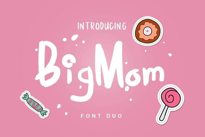 BigMom Font Duo