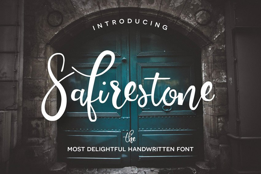 Safirestone Font