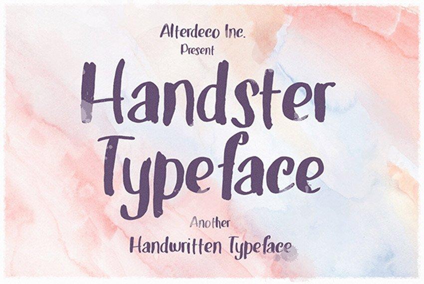 Handster Typeface