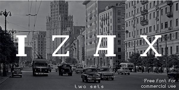 Izax Free Font