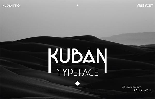 Kuban Pro Free Font