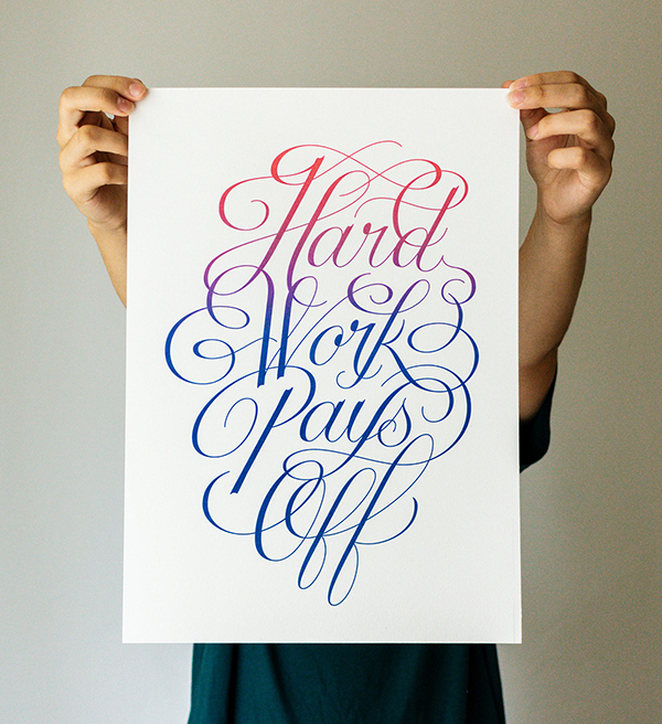 32 Remarkable Lettering and Typography Design for Inspiration - 12
