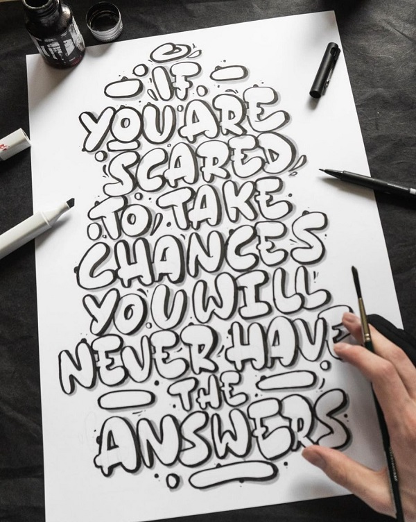 32 Remarkable Lettering and Typography Design for Inspiration - 2