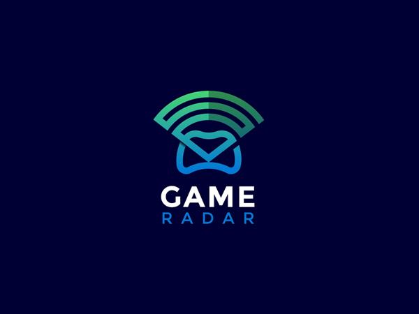 Game Radar Logo Design Concept by Nasir Uddin Free Font