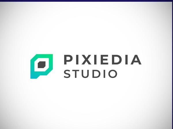 P letter   Pixel logo concept by Unico Free Font