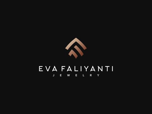 Eva Faliyanti Logo Design by design_artgo Free Font
