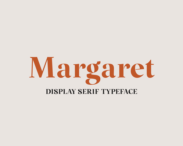 Margaret Serif Free Logo Font