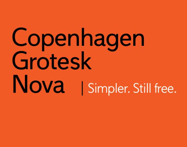 Copenhagen Grotesk Nova Free Logo Font