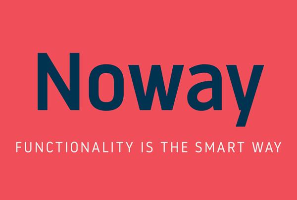 Noway Free Logo Font