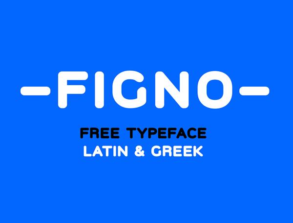 Figno Free Logo Font