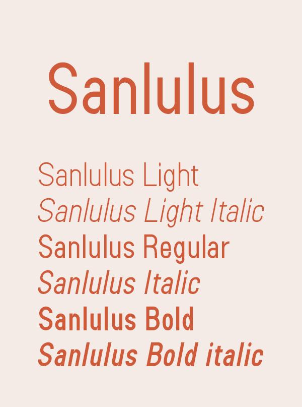 Sanlulus Free Logo Font