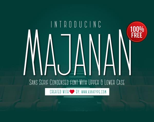 Majanan Free Font