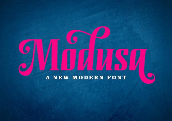 Modusa Free Font