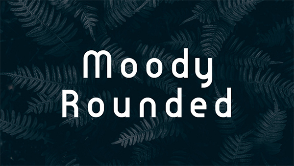 Moody Rounded Free Font