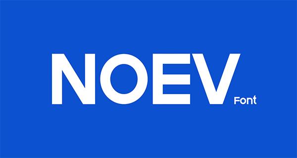 Noev Free Font