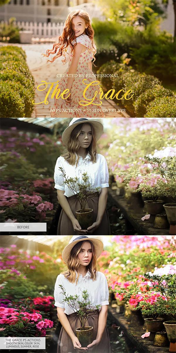 The Grace Photoshop Actions