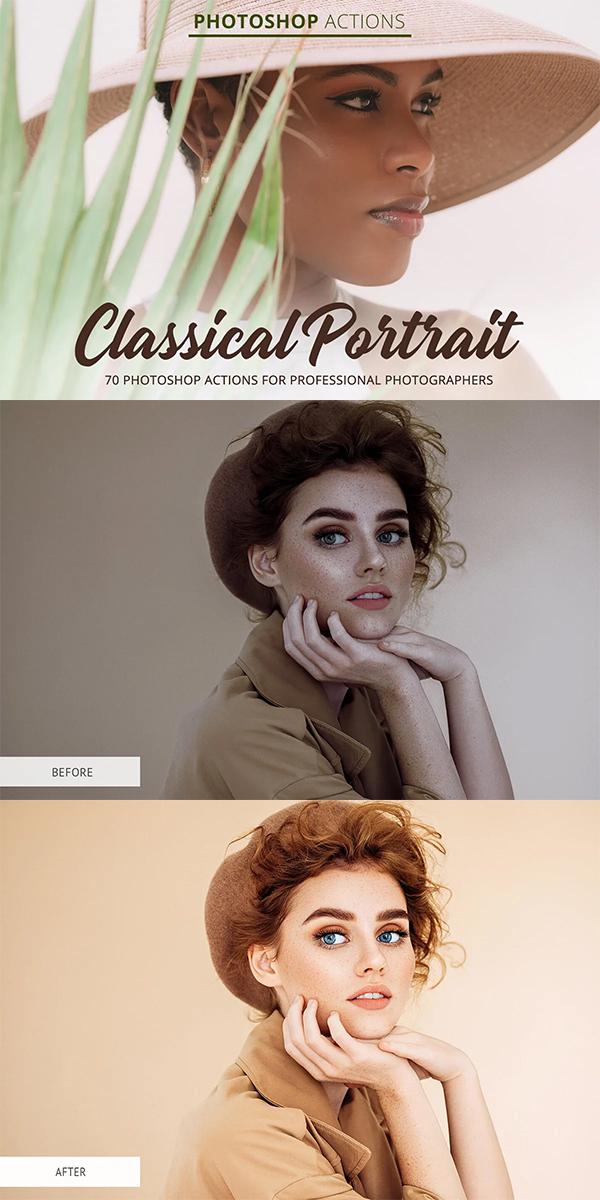 Classical Portrait Actions