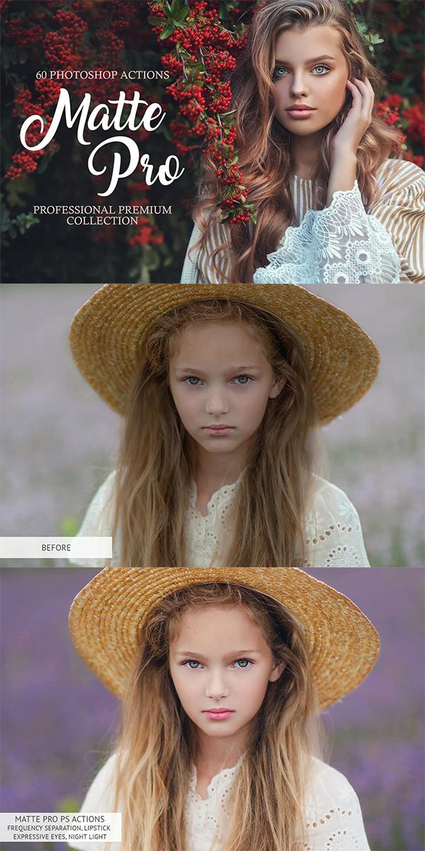 Matte Pro Photoshop Actions