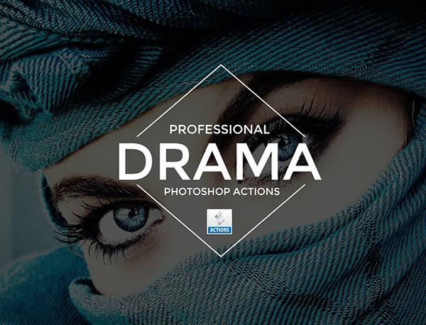 Drama Photoshop Actions