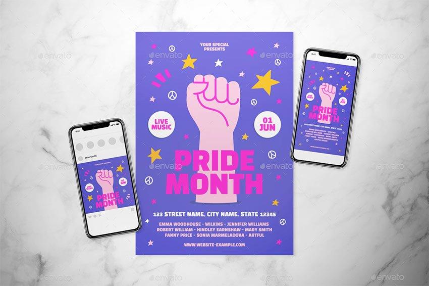 Pride Month Flyer