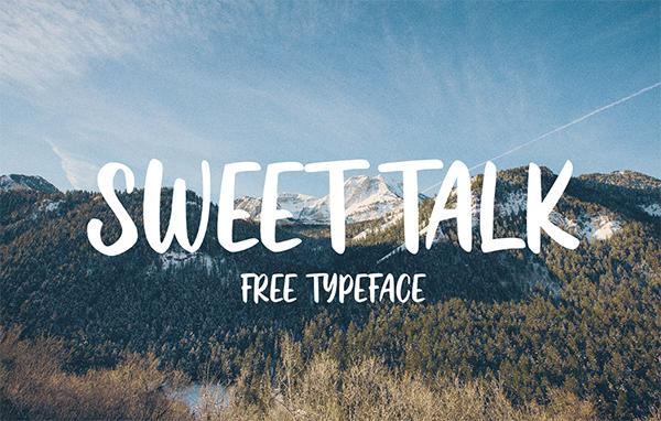 Sweet Talk Free Font