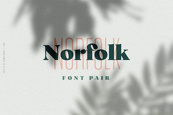 Norfolk Free Logo Font