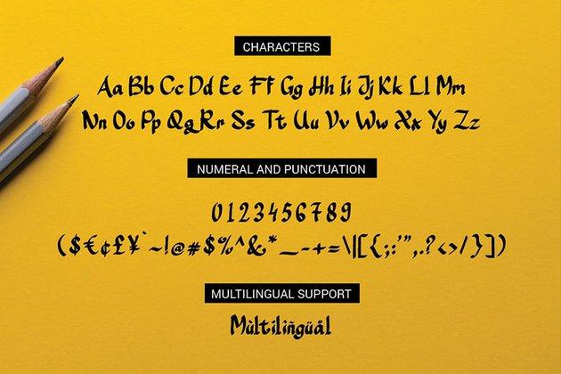 avatar papyrus font