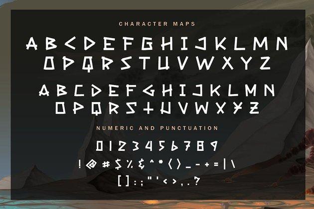Victorius - Gaming font