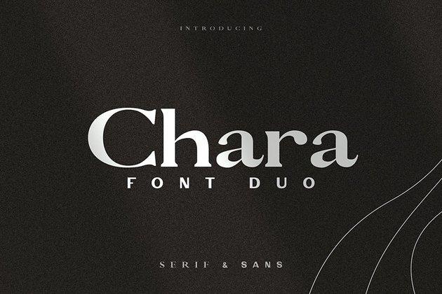 Chara - Sans Serif & Serif Duo