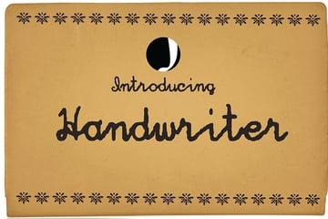 Hand Writer Font