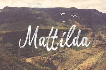 Mattilda Font