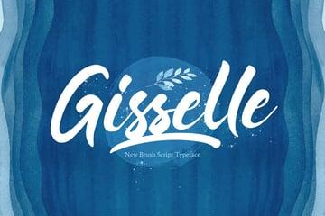 Gisselle - Bold Script Font